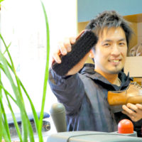 修理を断られた靴の駆け込み寺。 修理工房ネイチャーワークス