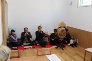 「国府宮神社には、雅楽を演奏する人は7年前まで居なかった!」